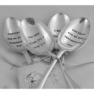 Dedication Silver Plated Spoon