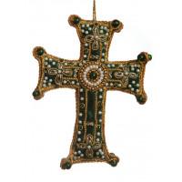 Decorative Velvet Cross