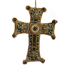 Decorative Velvet Cross