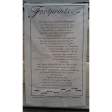 Footprints Tea Towel