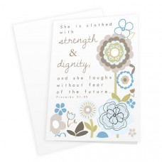 Strength and Dignity Card and Print