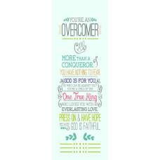 Overcomer Bookmark