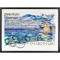 Embrace Me O Lord A4 Print - Unframed