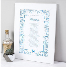 Letter To Mummy Print