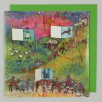 Advent Calendar Card - Journey of the Magi