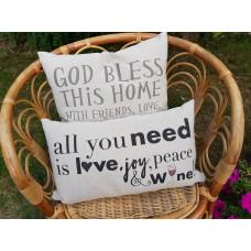 Cushion - God Bless This Home