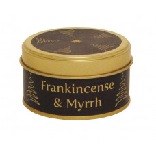 Frankincense and Myrrh Tinned Candle