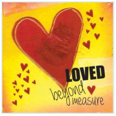 Pack of Four Notecards - Loved Beyond Measure