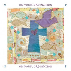 Ordination Dove Card
