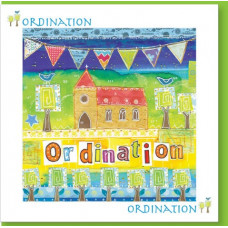 Ordination Card Church Bunting