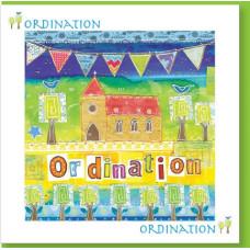 Ordination Church Bunting Card