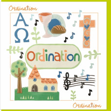 Ordination Card Alpha Omega