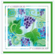 First Communion Card Grapevine