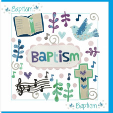 Baptism Time Card
