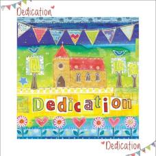 Dedication Church and Bunting Card