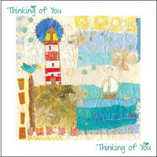 Thinking of You Card - Lighthouse