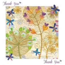 Thank You Card Stitched