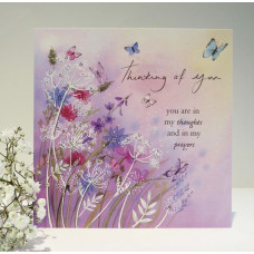 Thinking Of You Card - Meadow