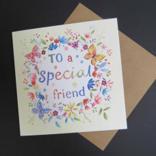 Special Friend Floral Card