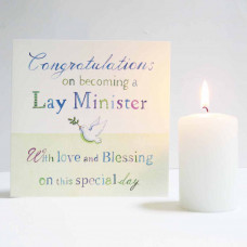 Lay Minister Dove Card