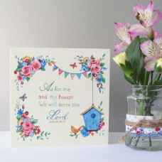 As for Me Greetings Card