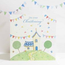 On Your Christening Greetings Card