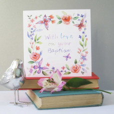 With Love on Your Baptism Card