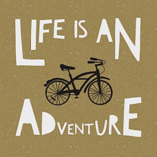 Life is an Adventure Birthday Card