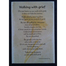 Walking with Grief Card and Postcard