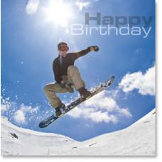 Happy Birthday Snow boarder