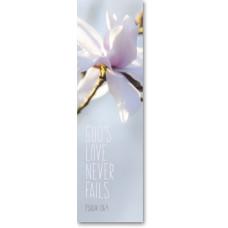 Bookmark God's Love Never Fails Magnolia