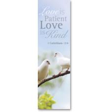 Bible Bookmark Love is Patient