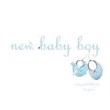 New Baby Boy - Bootees