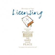 Licensing Card Blessings