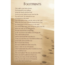 Footprints Cards A5