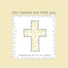 Our Hearts Are With You Card