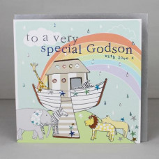 Godson With Love Card