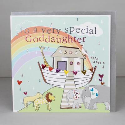 Special Goddaughter Card