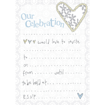 Our Celebration Invitation Pack