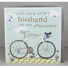 Happy Anniversary Husband Card