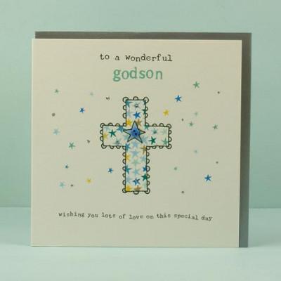 Wonderful Godson Card