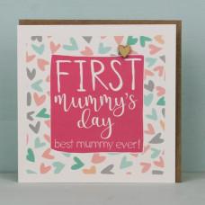 First Mummy's Day Card