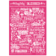 Busy Being Blessed Greetings Card Pink