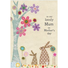 Lovely Mum On Mother's Day Card