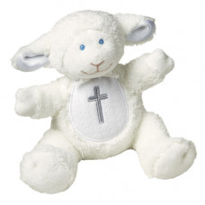 Lamb With Cross Rattle
