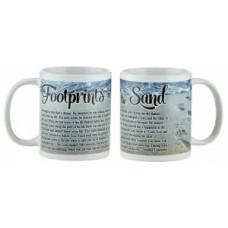 Footprints Mug