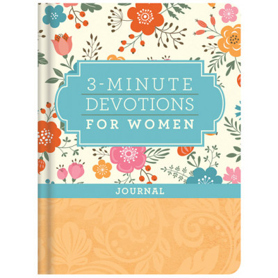 3 Minute Devotionals for Women Journal
