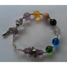 Psalm 23 Beaded Bracelet