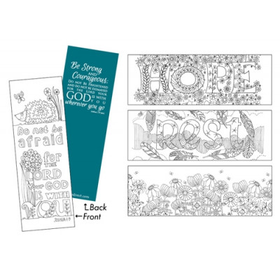 Images of Grace Bookmarks To Colour