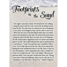 Footprints Notebook